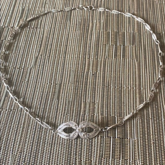 Jewelry - Sterling Silver handmade vintage necklace